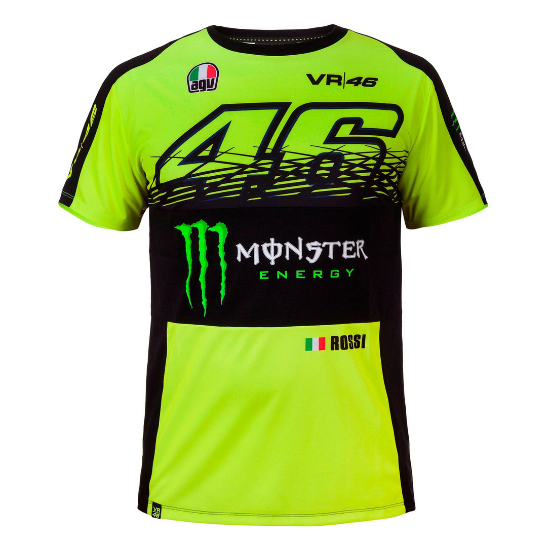 Dual Monster Valentino Rossi 46 T Shirt Pit Lane 9 Shop