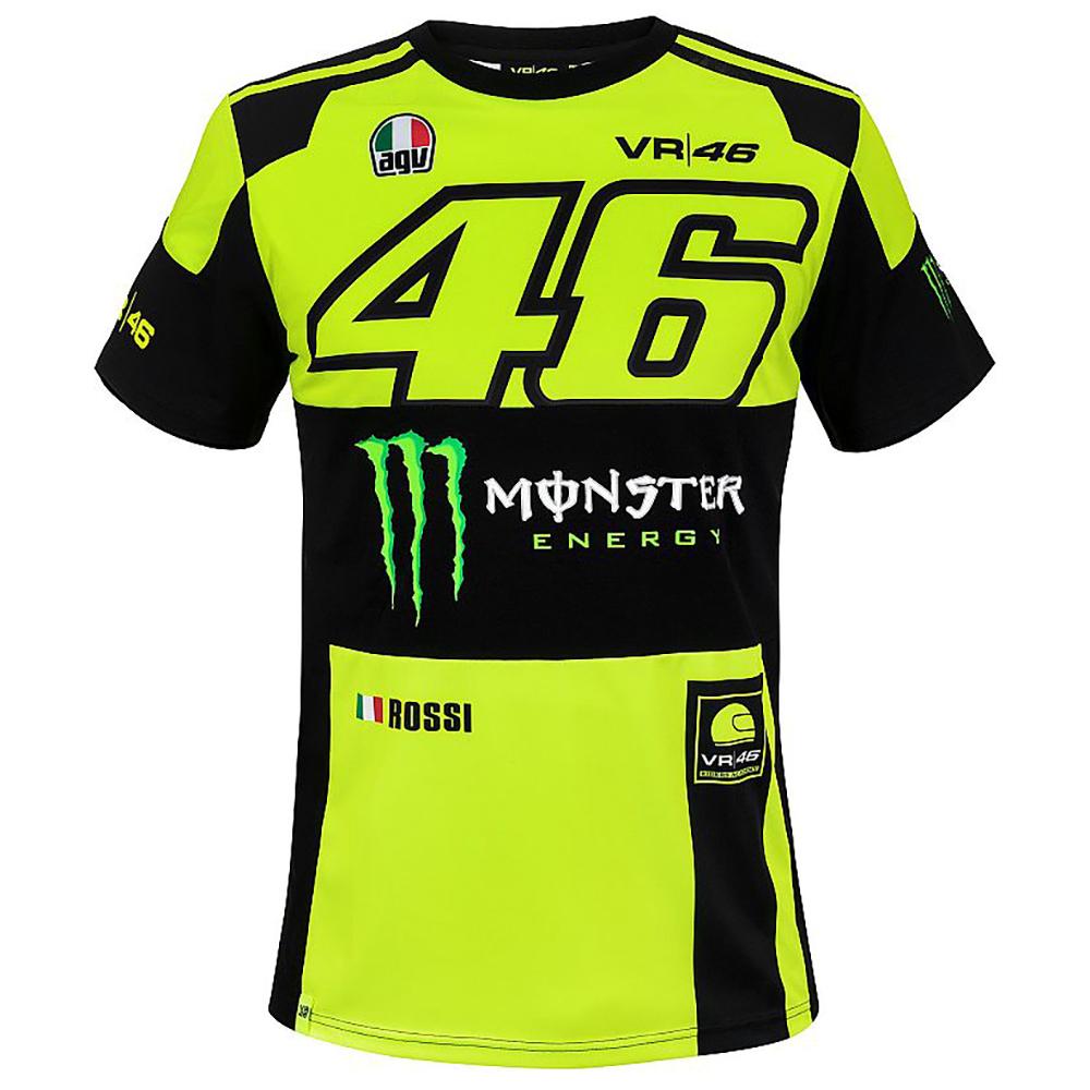 d3a57b65 Dual Monster Valentino Rossi 46 T-Shirt 2018 - Pit Lane 9 Shop