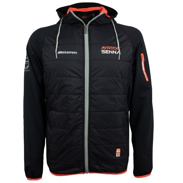 a58178ed81a Ayrton Senna Hooded Jacket McLaren - Pit Lane 9 Shop
