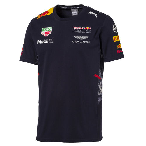T-Shirt Red Bull Racing F1 Team 2017