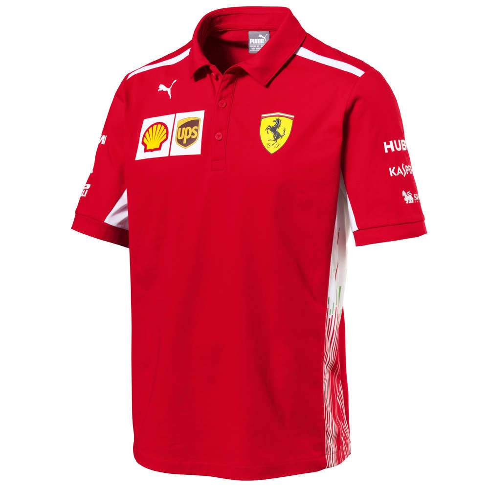 popular design comfortable feel new design Scuderia Ferrari F1 Team Polo Shirt