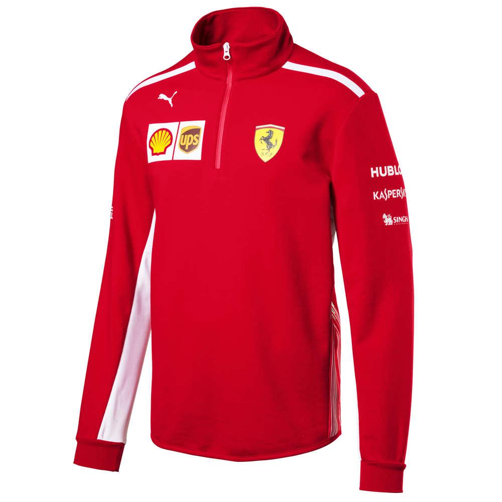 6d08eabc Scuderia Ferrari F1 Team Zip Fleece Sweatshirt 2018 - Pit Lane 9 Shop