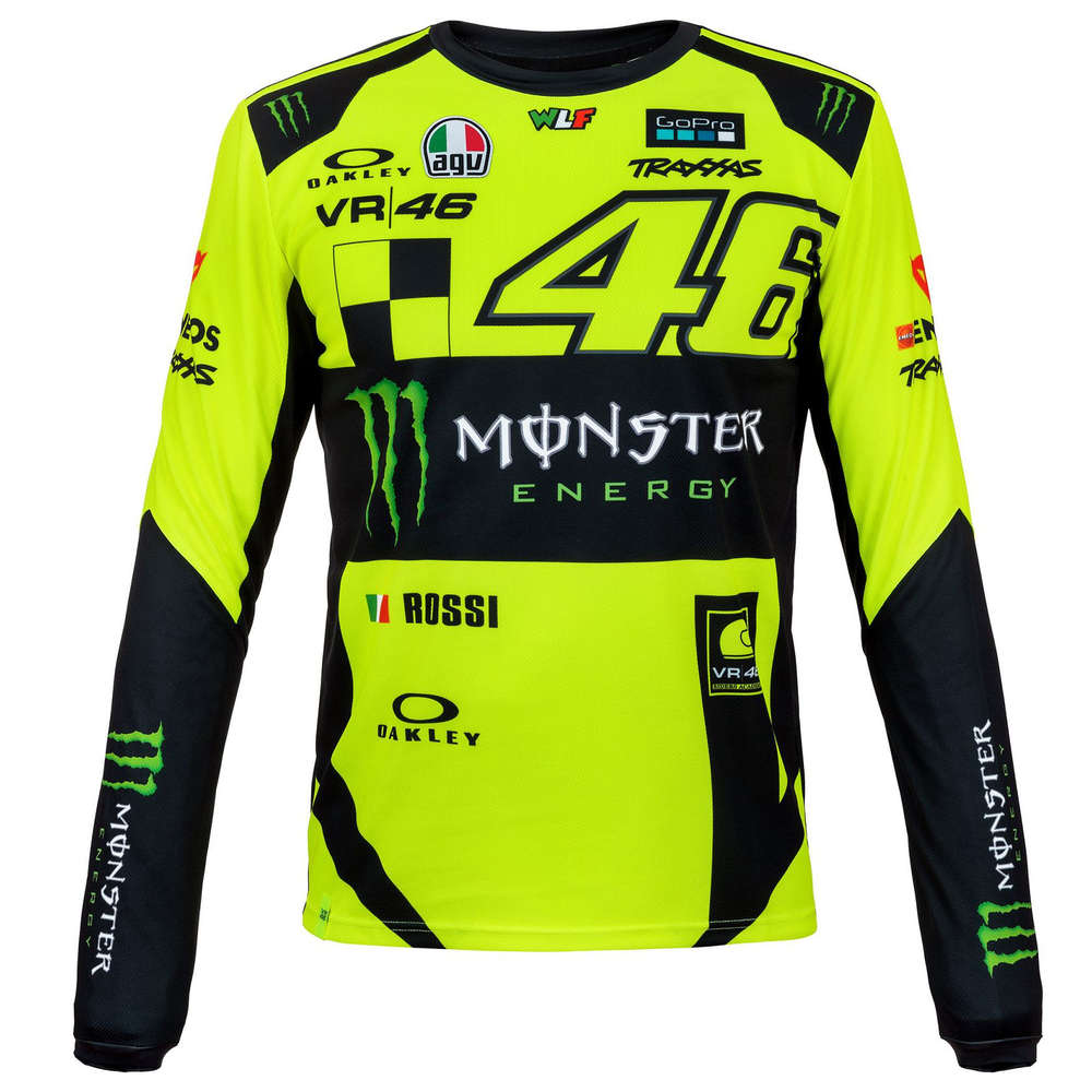 49afea0ff754 Long Sleeve T-Shirt Monza Monster VR46 - Pit Lane 9 Shop