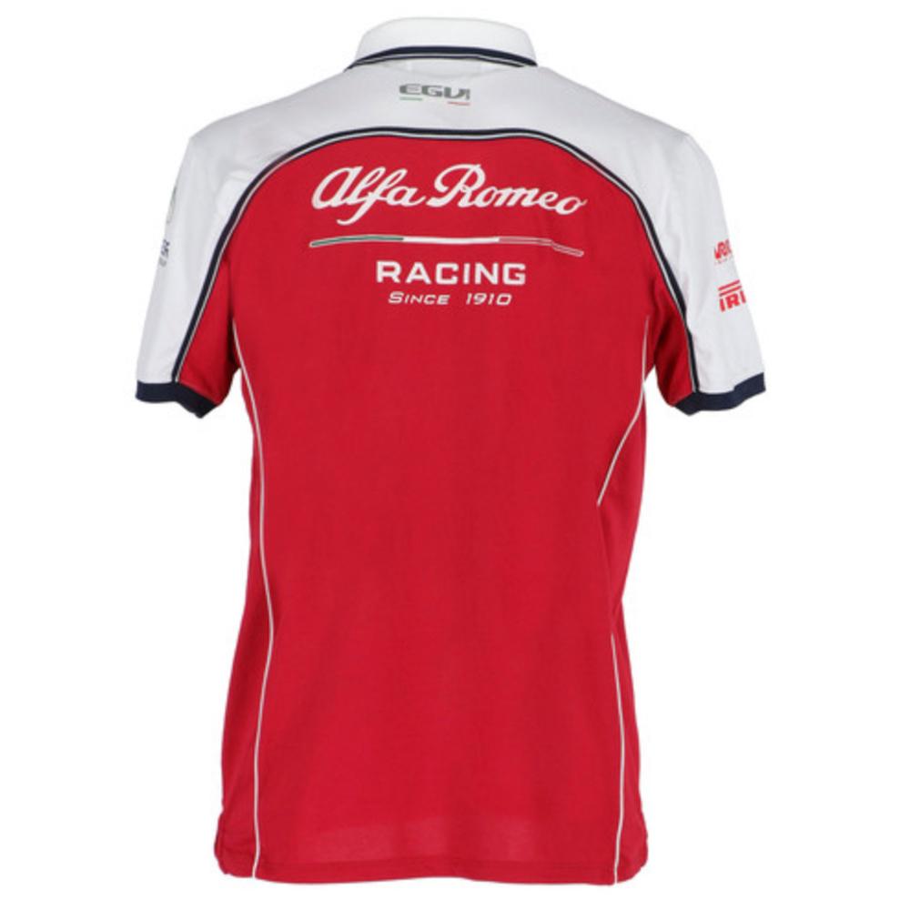 Alfa Romeo Racing F1 2019 Team Polo pour Homme