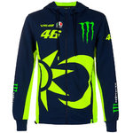 Monster VR46 Valentino Rossi Zip Fleece Hoodie